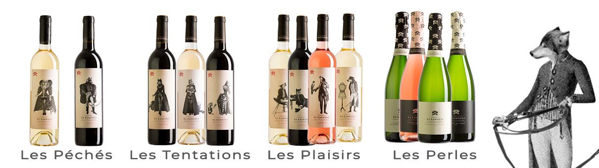 Gammes de vin